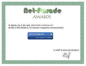 Certificato Net-Parade